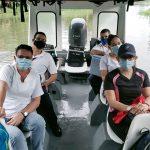 Funcionarios del Área de Salud de Siquirres retan condiciones climatológicas para cumplir con procesos de inmunización