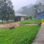 Inundaciones en Limón obligan a suspender atención en Ebais y Áreas de Salud